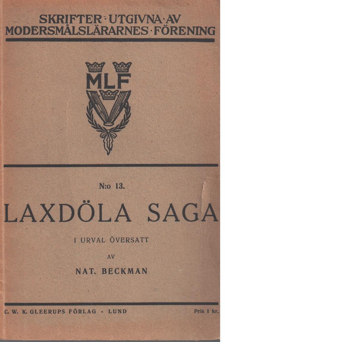 Laxdöla saga - Red.