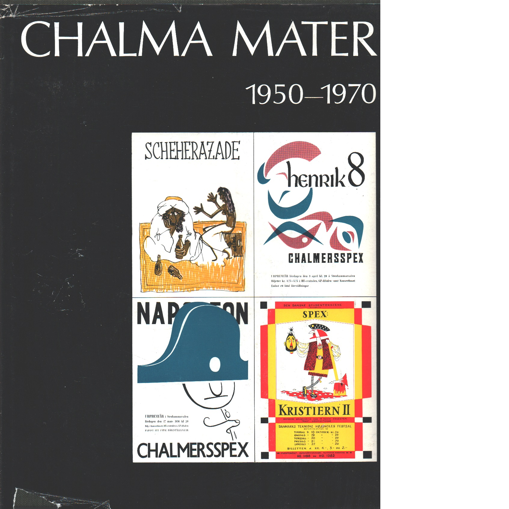 Chalma mater. D. 5, 1950-1970 - Red.