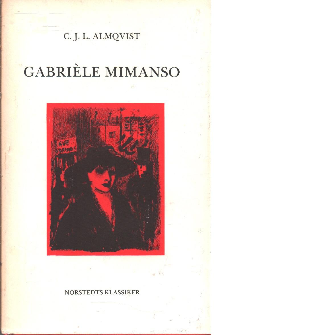 Gabrièle Mimanso - Almqvist, Carl Jonas Love