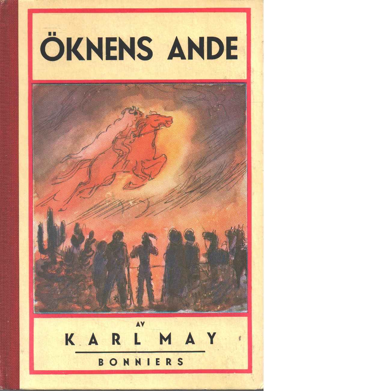 Öknens ande - May, Karl