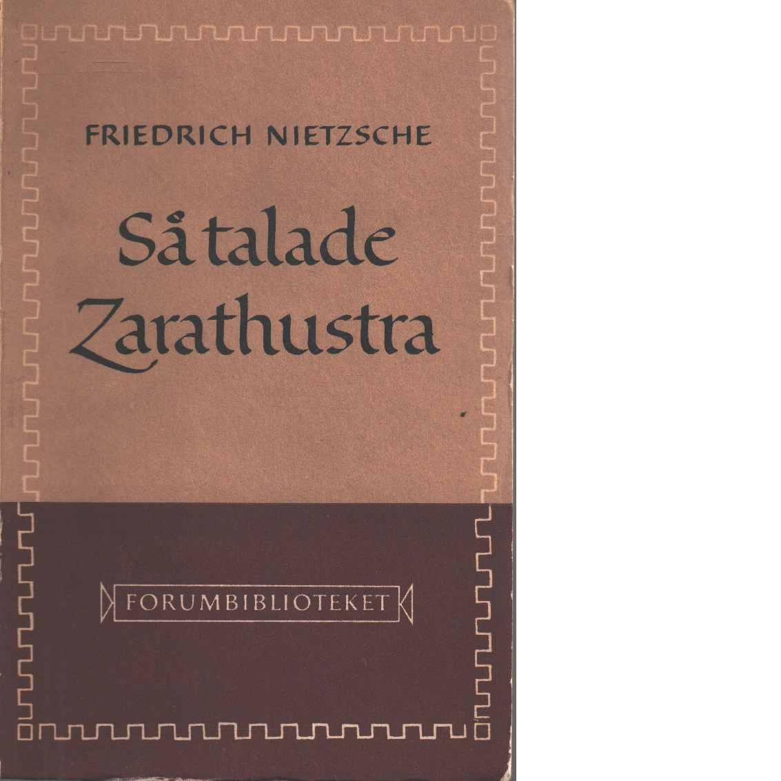 Så talade Zarathustra - Nietzsche, Friedrich
