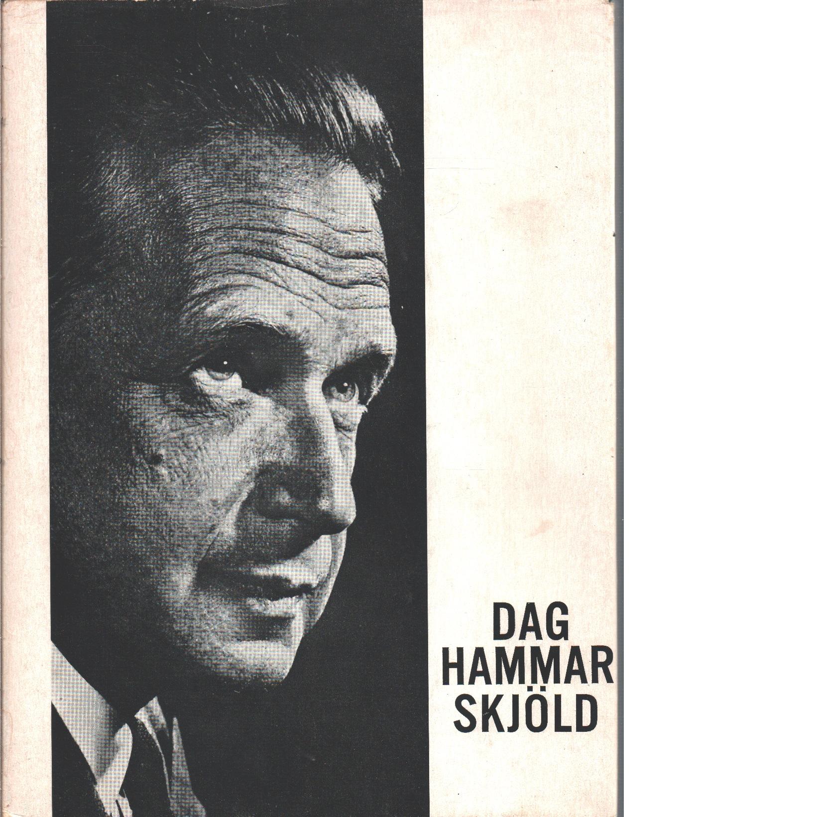Dag Hammarskjöld - Red.
