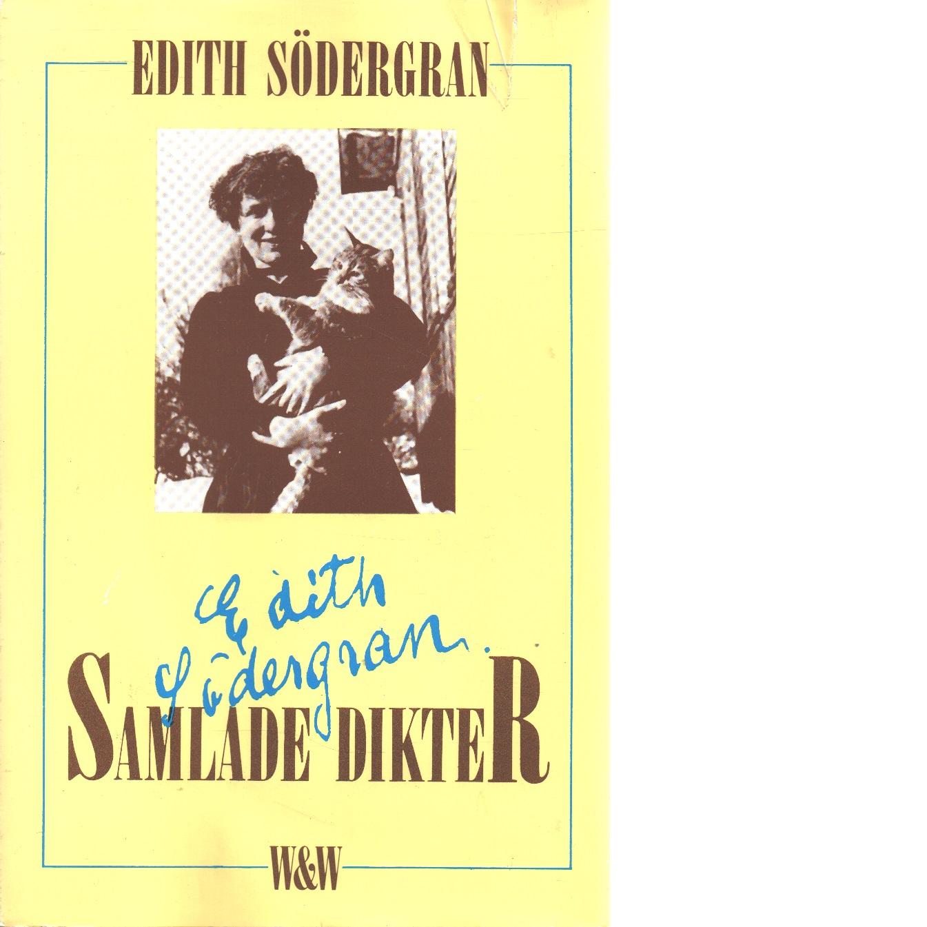 Samlade dikter / Edith Södergran - Södergran, Edith