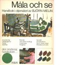 Måla och se : handbok i oljemåleri - Melin, Björn