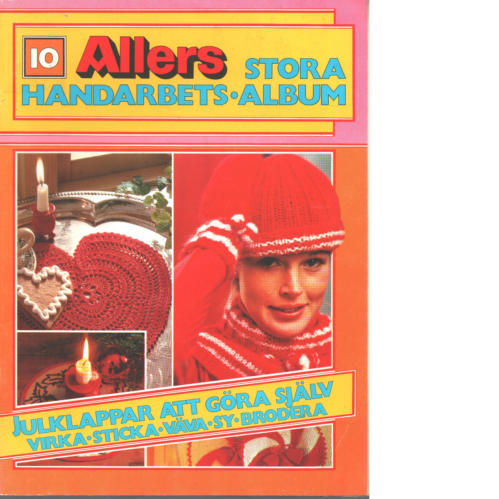 Allers stora handarbets-album. 10 - Red.