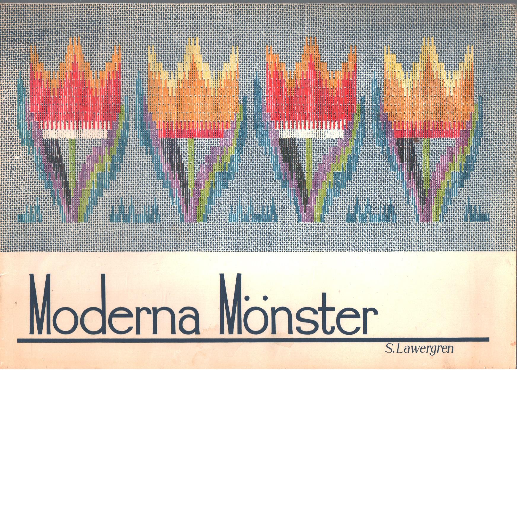 Moderna mönster : modern patterns - Lawergren, Sara