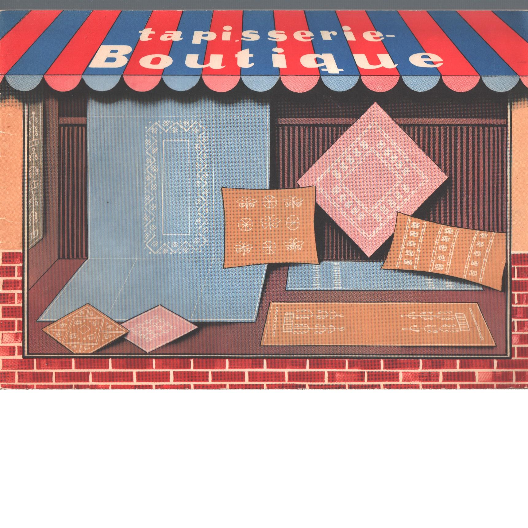 Tapisserie-boutique : förslag till handarbeten i olika bottensömmar - Lawergren, Sara