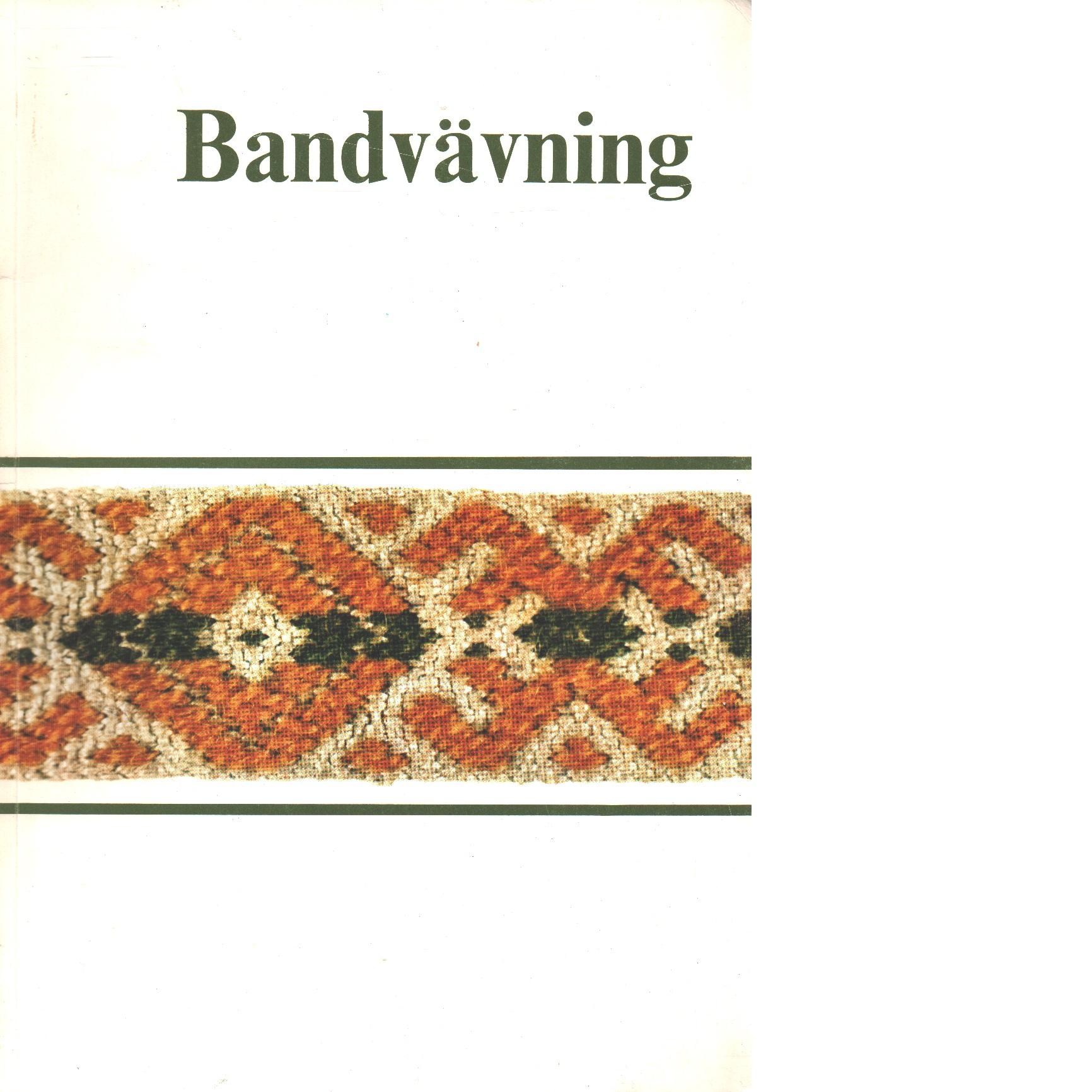 Bandvävning - Jaric, Margareta