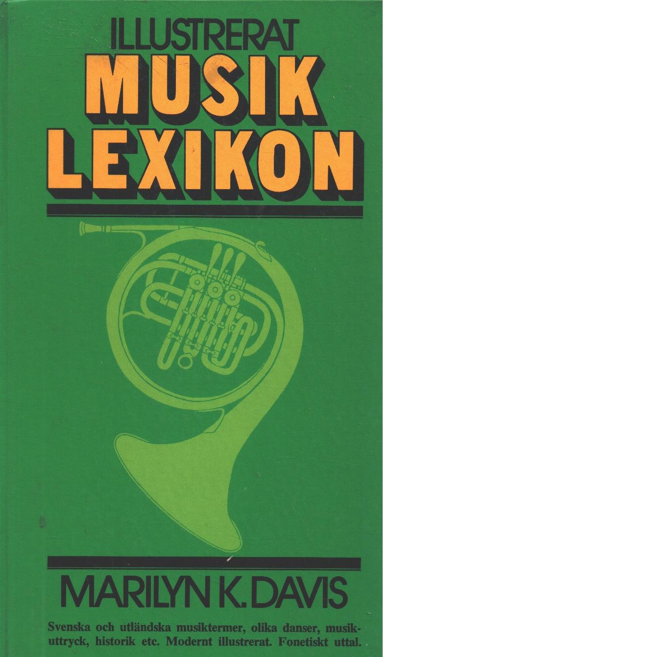 Illustrerat musiklexikon - Davis, Marilyn Kornreich