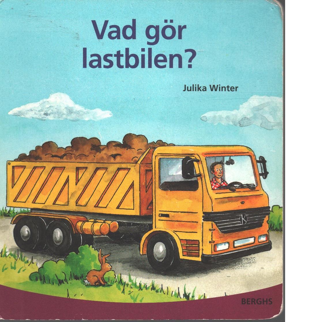 Vad gör lastbilen? - Winter, Julika