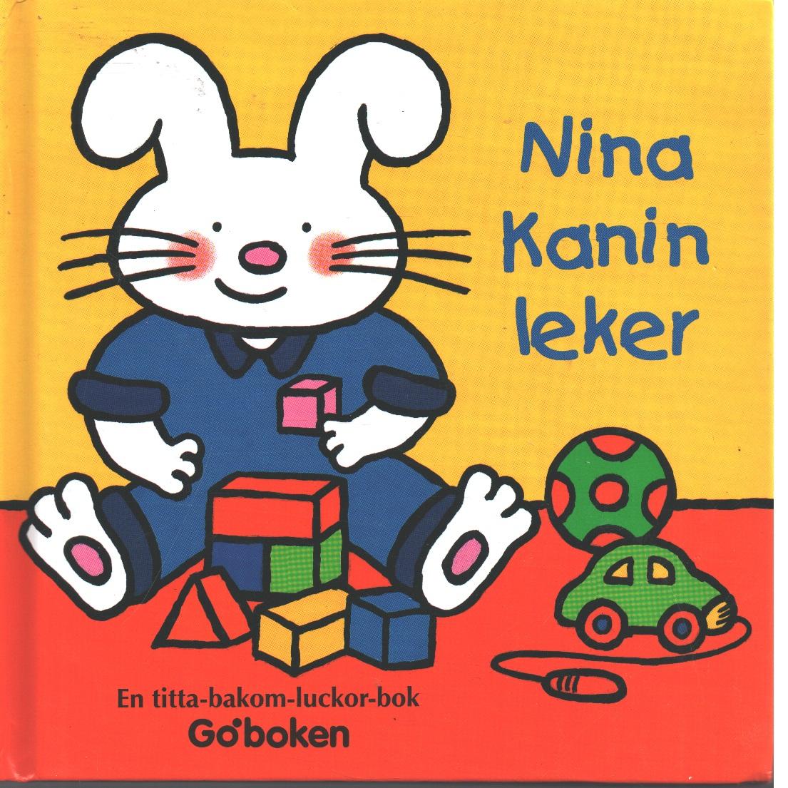 Nina Kanin leker : en titta-bakom-luckor-bok - Coats, Lucy