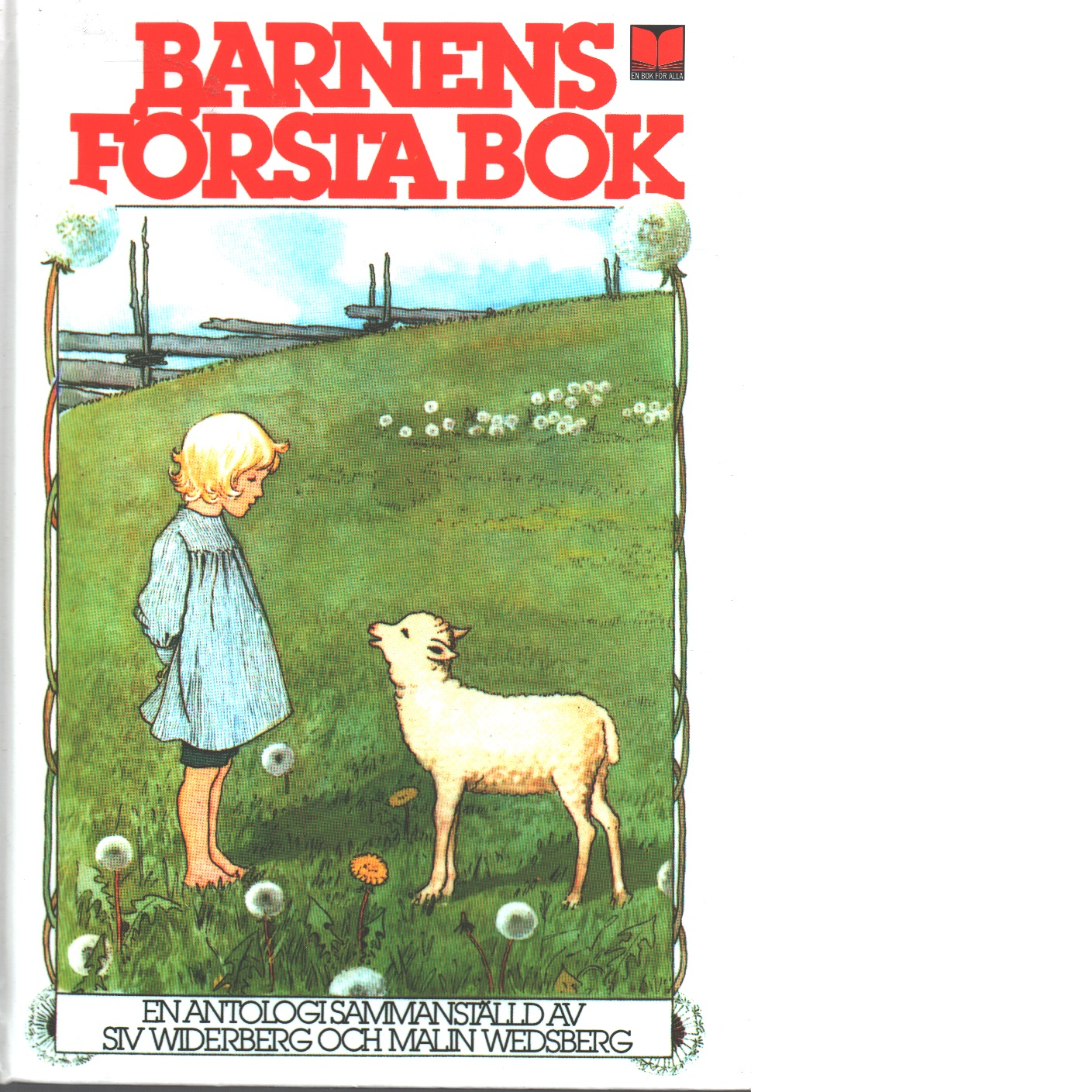 Barnens första bok : en antologi - Red.