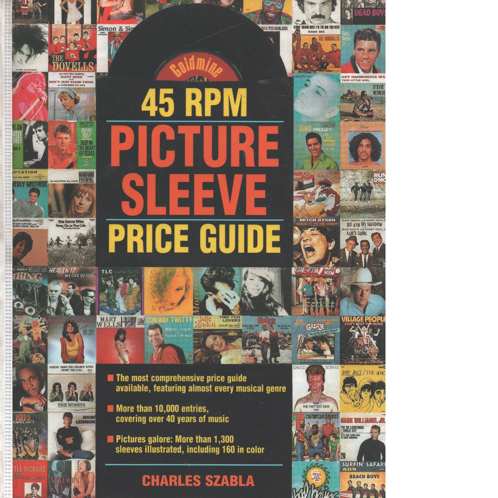 Goldmine 45 Rpm Picture Sleeve Price Guide - Szabla, Charles
