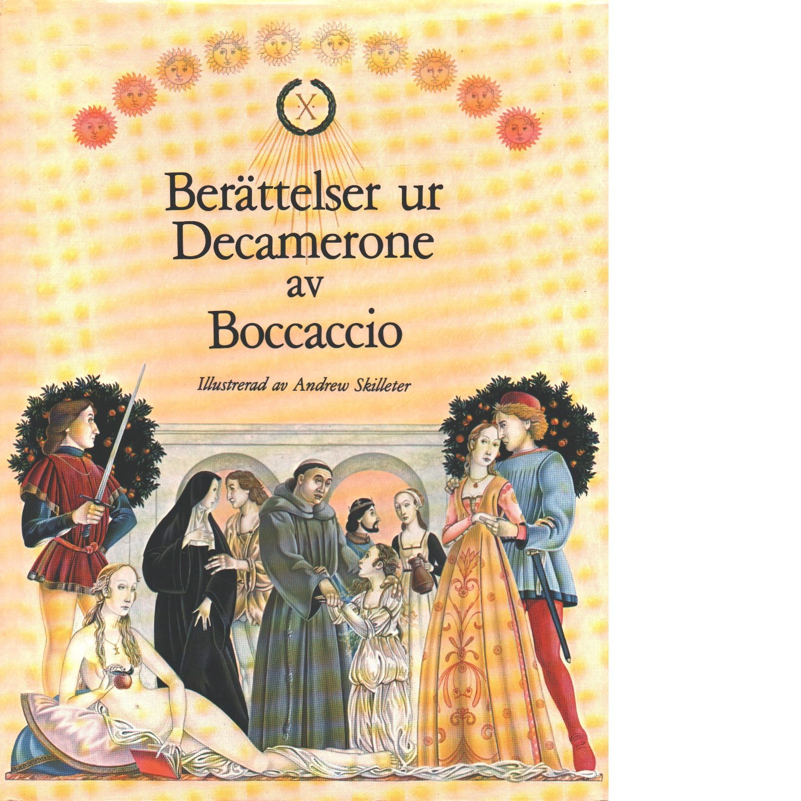Berättelser ur Decamerone - Boccaccio, Giovanni