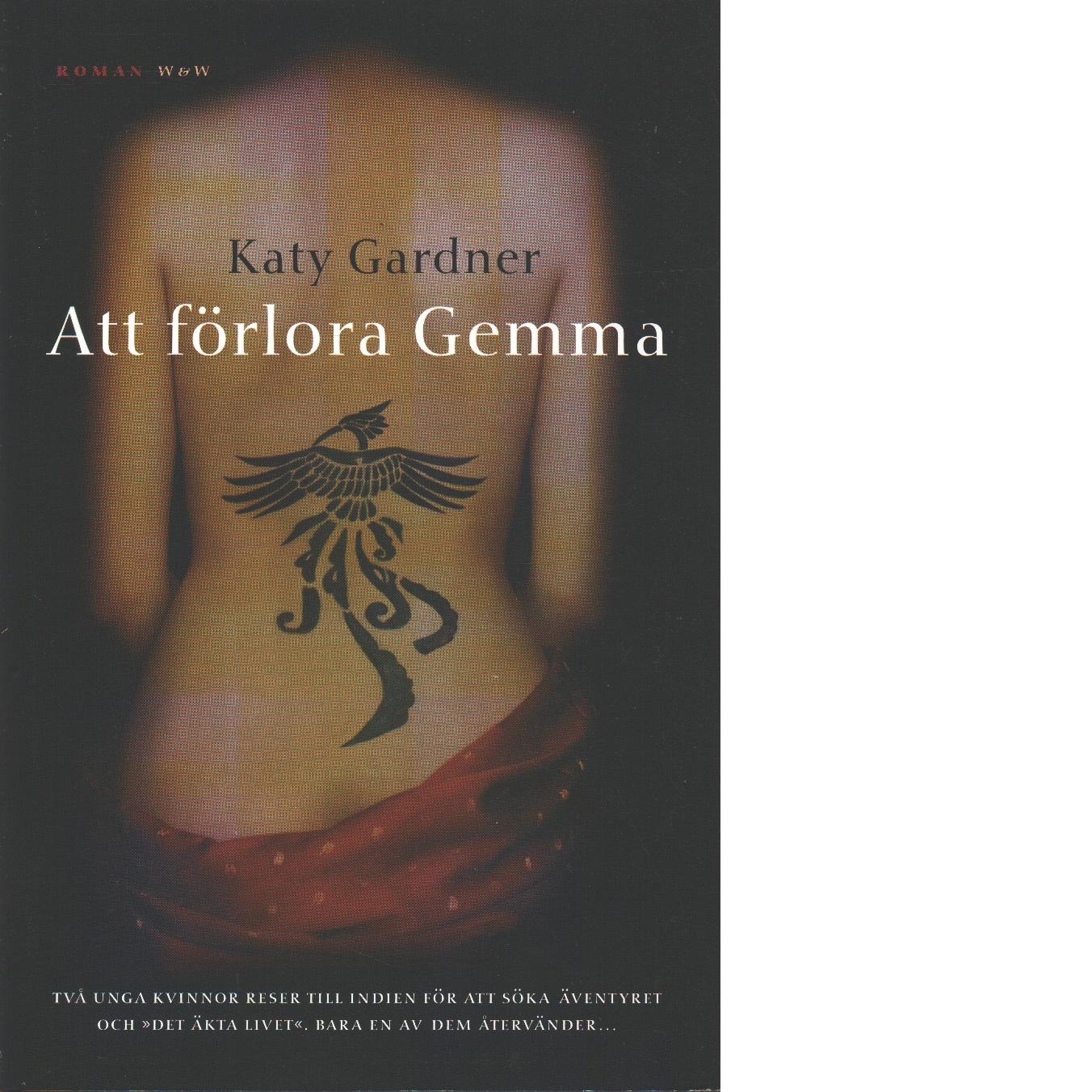 Att förlora Gemma - Gardner, Katy