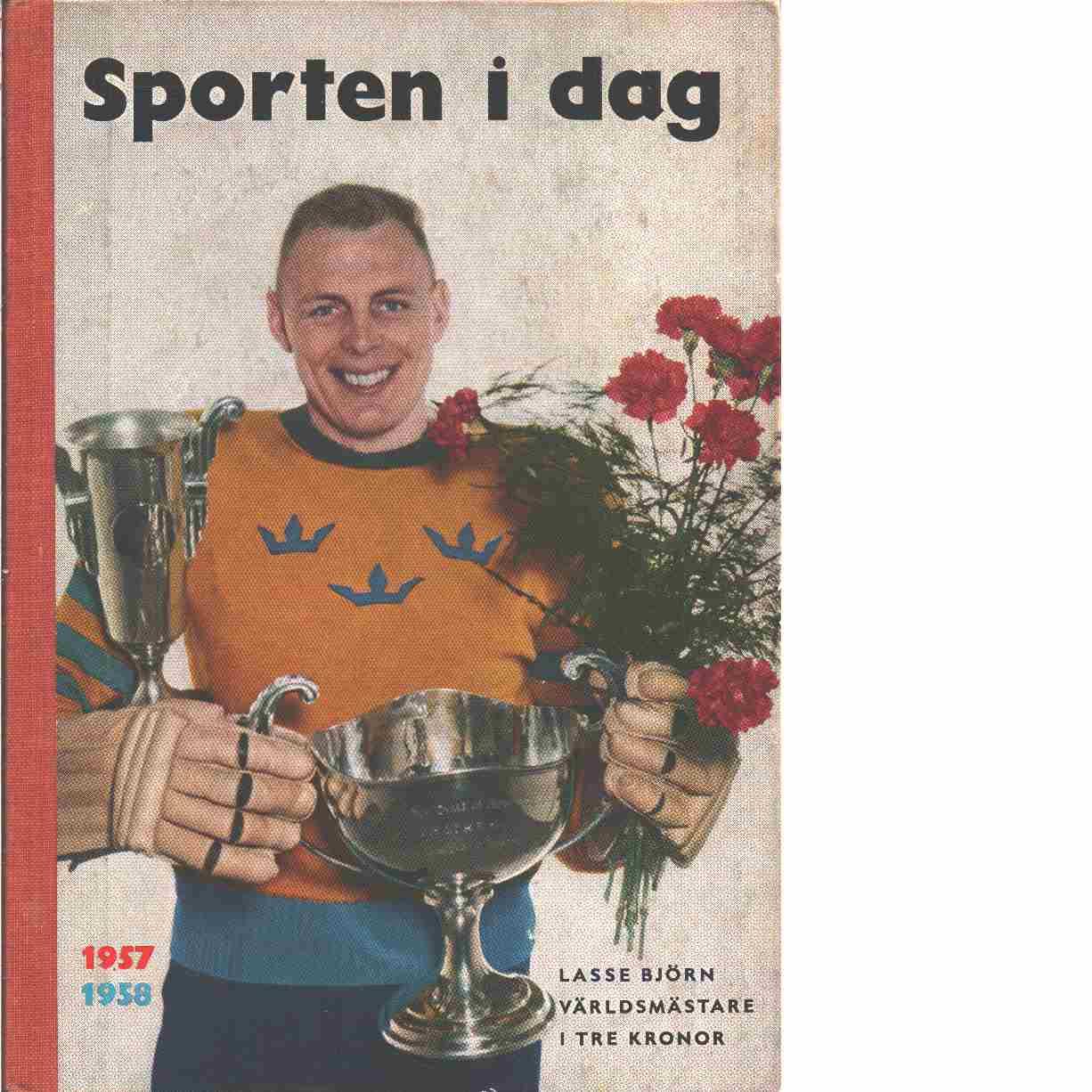 Sporten idag  1957-58 - Red,