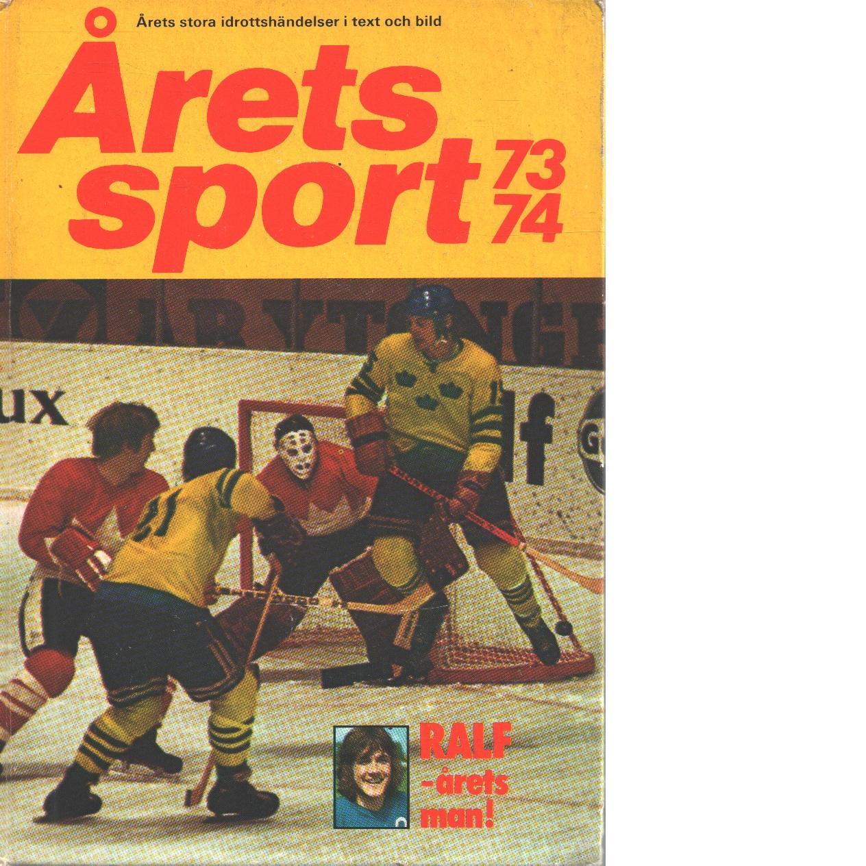 Årets Sport 73-74 - Red