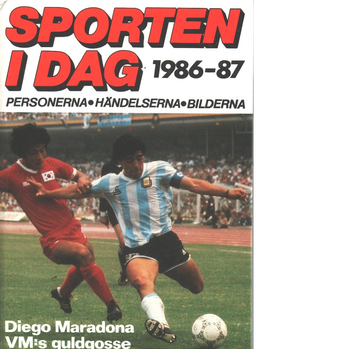 Sporten i dag 1986-87 - Red,