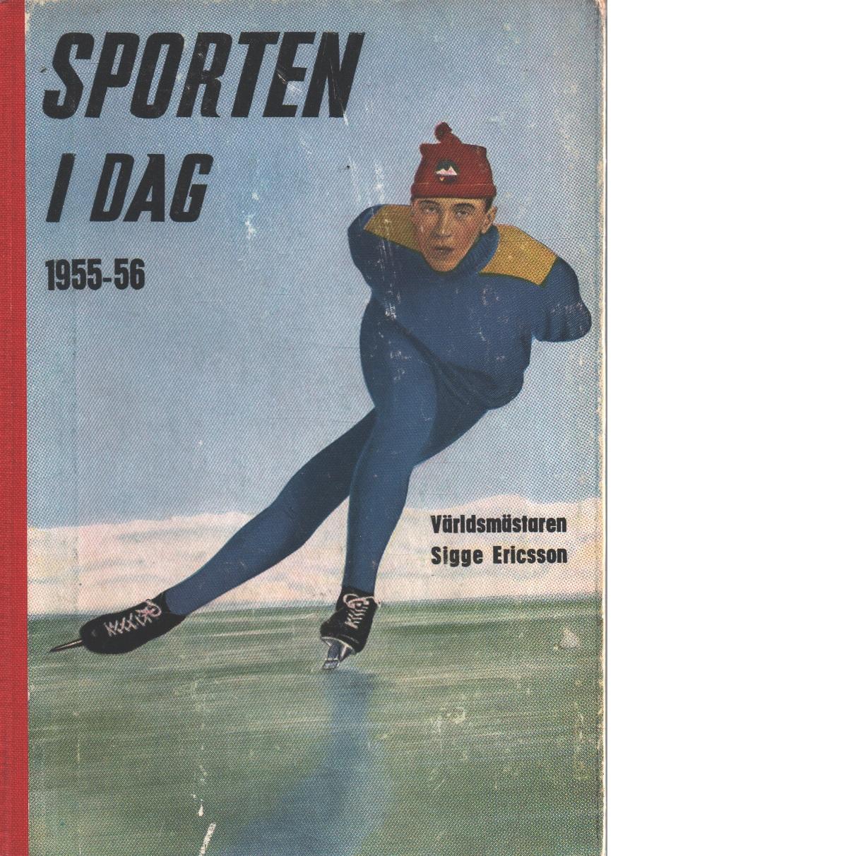 Sporten idag  1955-56 - Red,