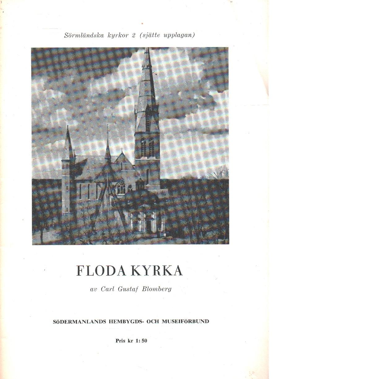 Floda kyrka. - Blomberg, Carl Gustaf