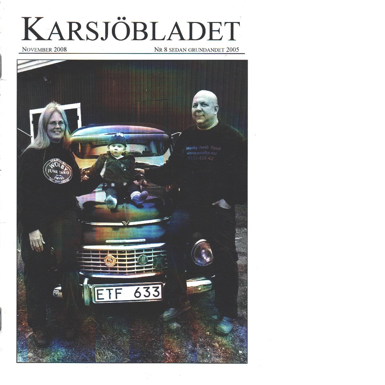 Karsjöbladet 8 - Red.