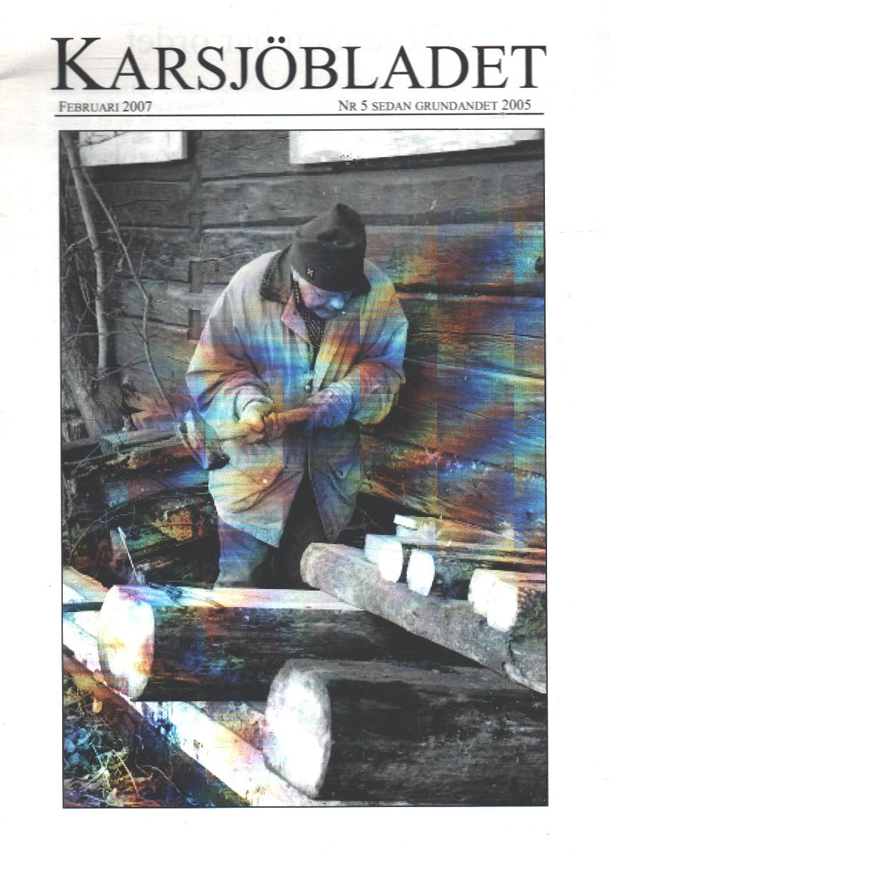 Karsjöbladet 5 - Red.