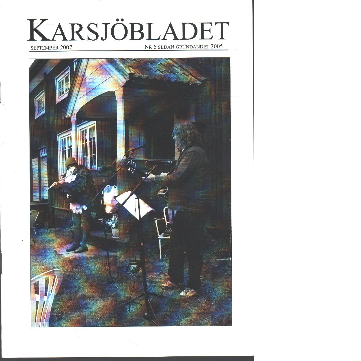 Karsjöbladet 6 - Red.