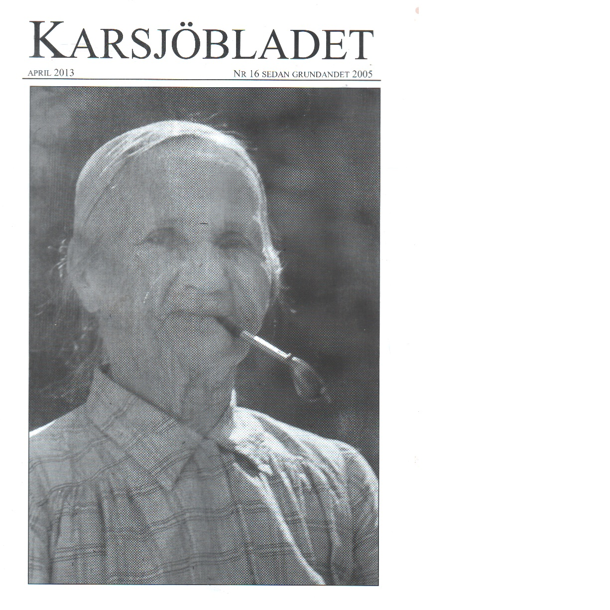 Karsjöbladet 16 - Red.