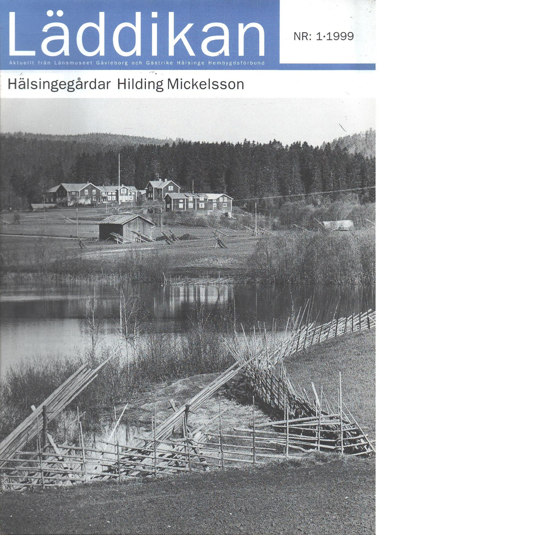 Läddikan  nr 1 - Red. Länsmuseet Gävleborg