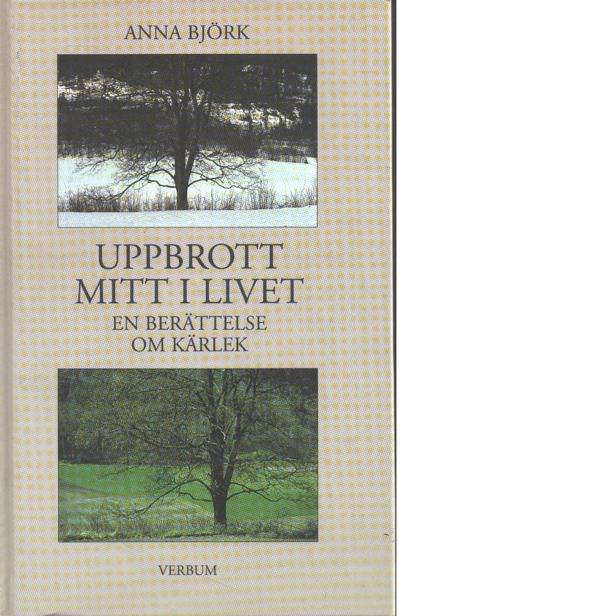 Uppbrott mitt i livet : en berättelse om kärlek - Björk, Anna