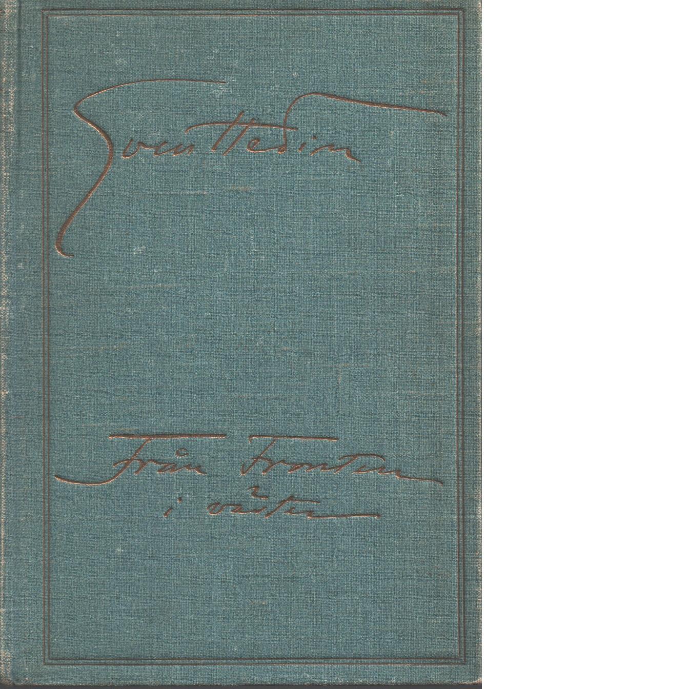 Från fronten i väster september-november 1914 : med 300 bilder samt 4 kartor - Hedin, Sven