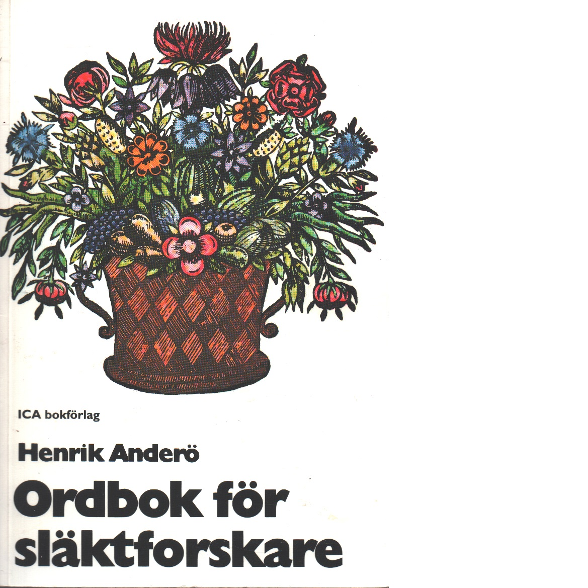 Ordbok för släktforskare - Anderö, Henrik