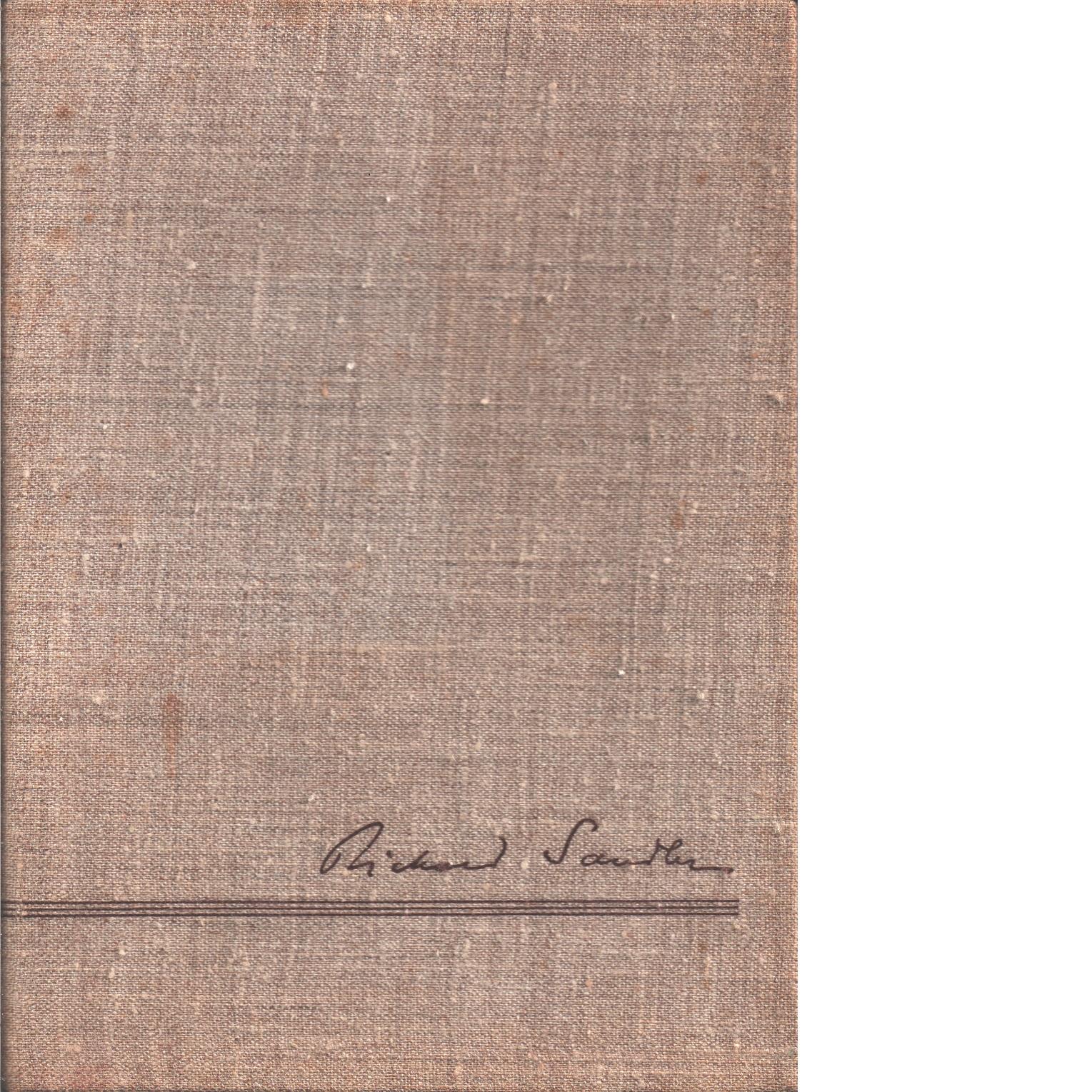 En bok till Rickard Sandler : på 60-årsdagen den 29 januari 1944 c - Red.