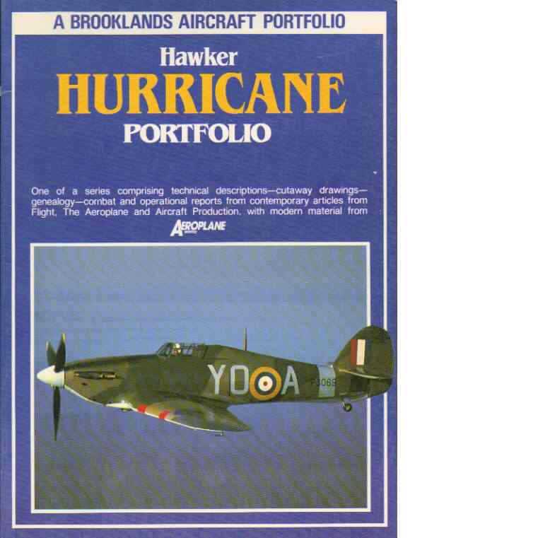 Hawker hurricane aircraft portfolio - Clarke, R.M.