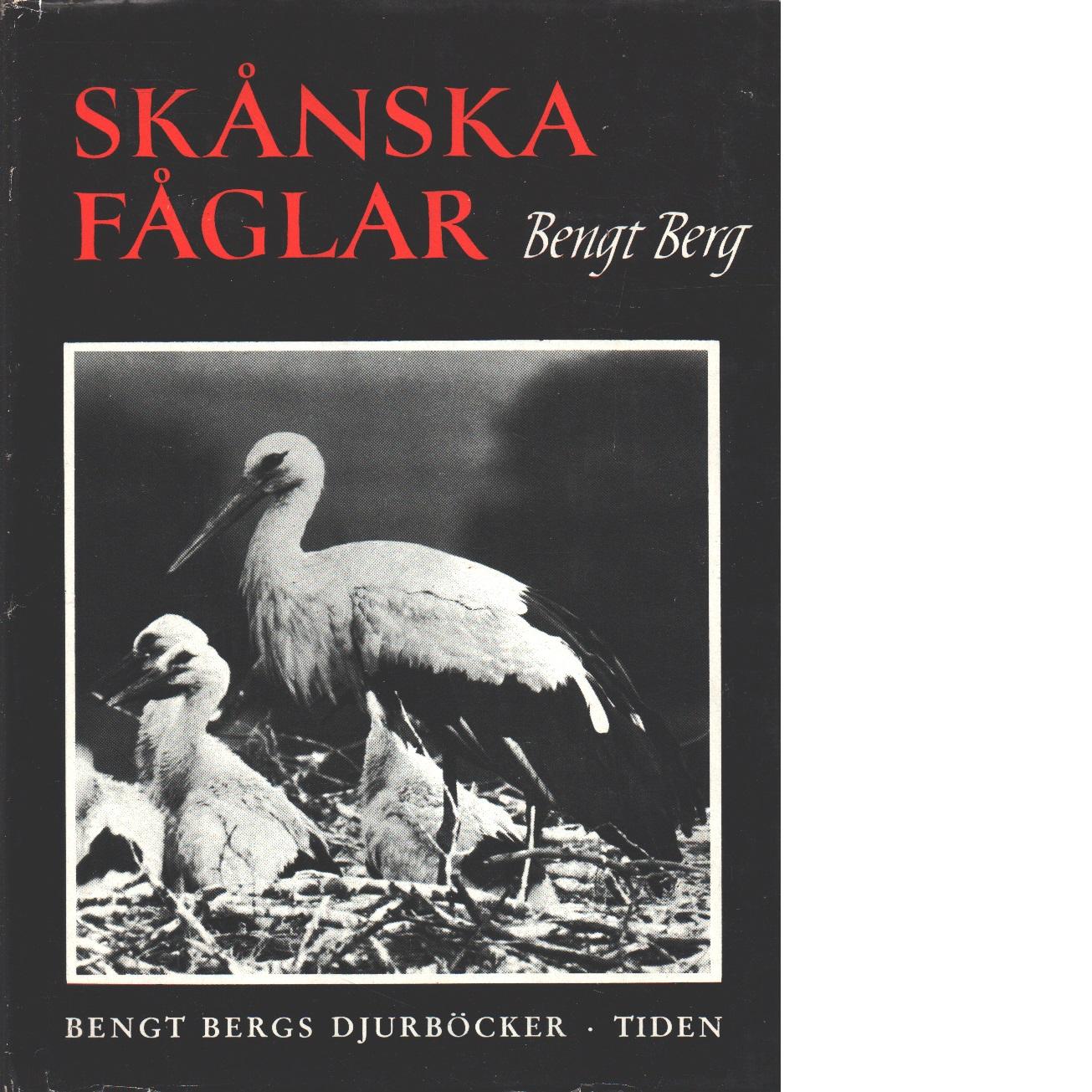 Skånska fåglar - Berg, Bengt