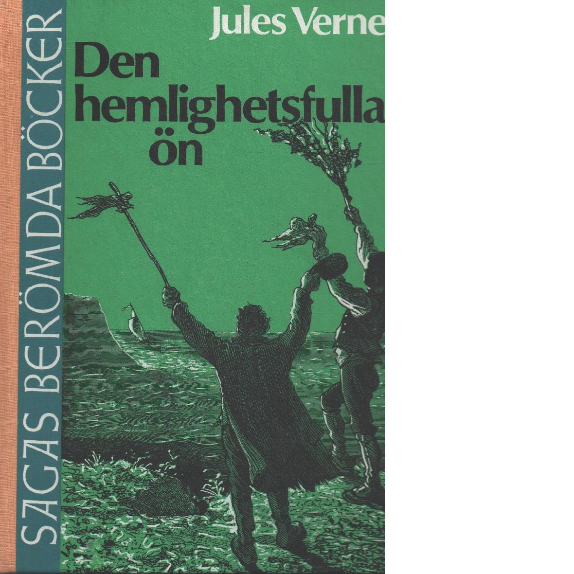 Den hemlighetsfulla ön - Verne, Jules