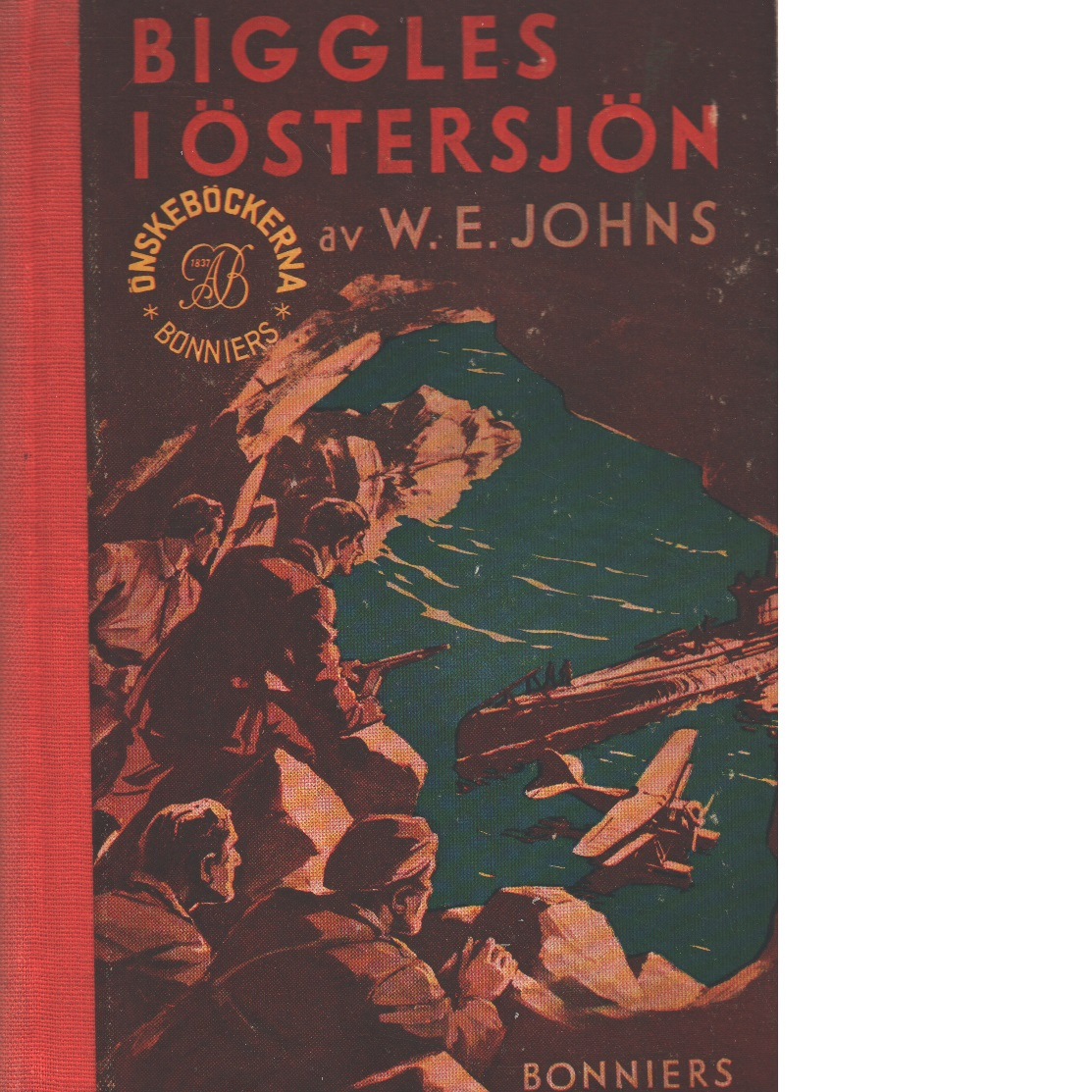Biggles i Östersjön - Johns, William Earl