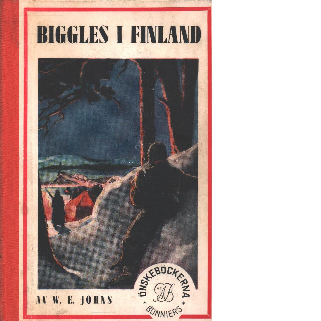 Biggles i Finland - Johns, William Earl