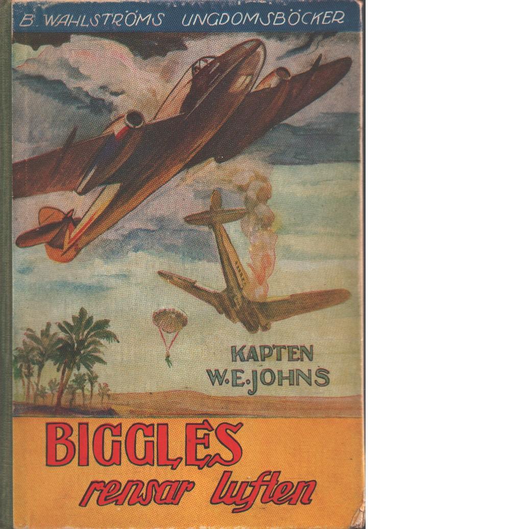 Biggles rensar luften - Johns, William Earl