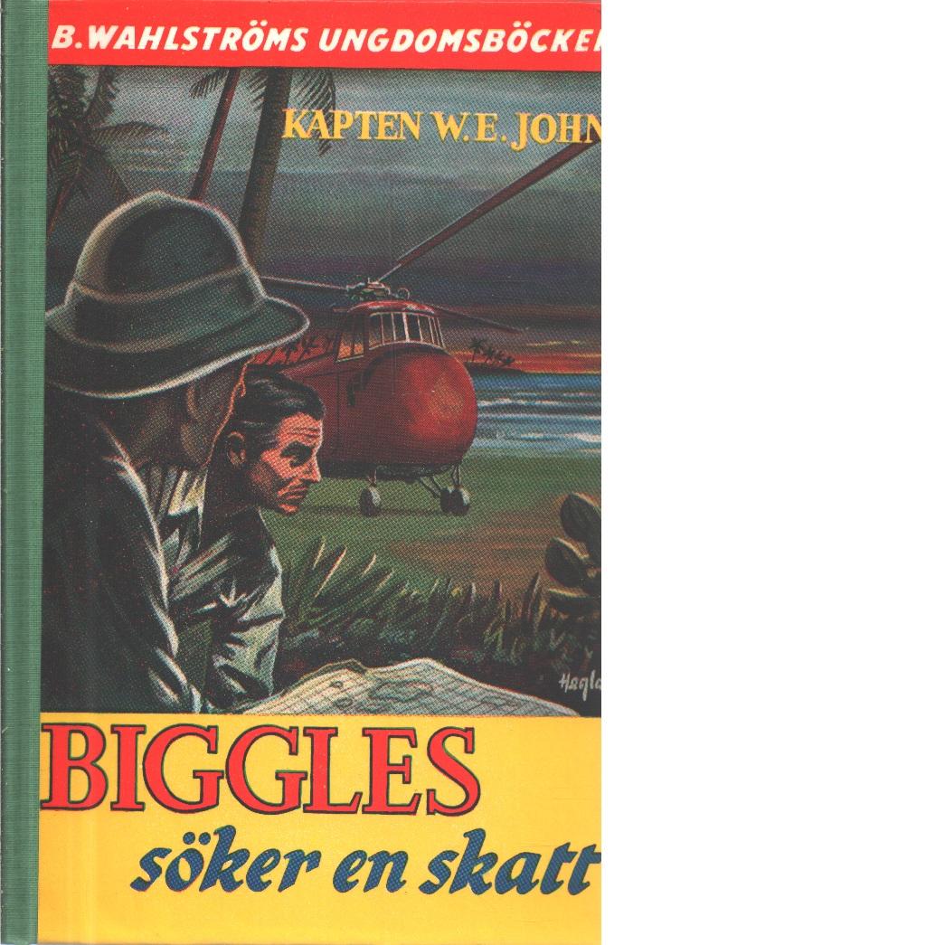Biggles söker en skatt - Johns, William Earl