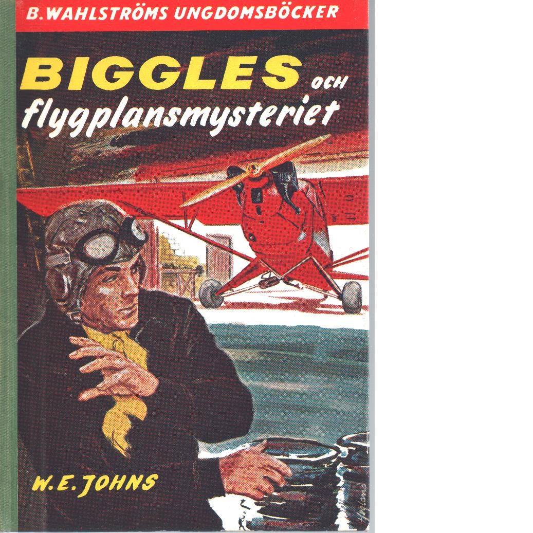 Biggles och flygplansmysteriet - Johns, William Earl