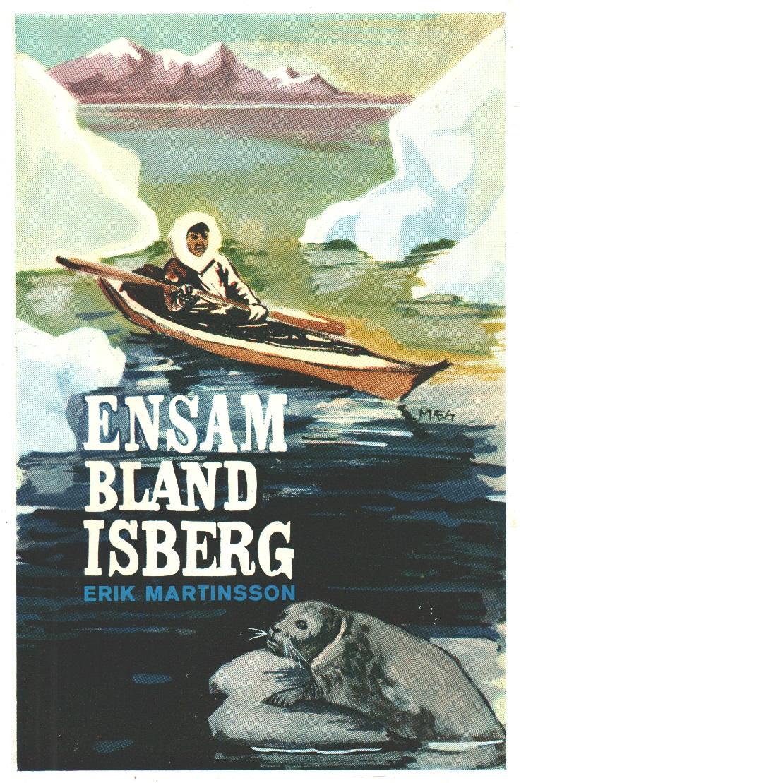 Ensam bland isberg - Martinsson, Erik