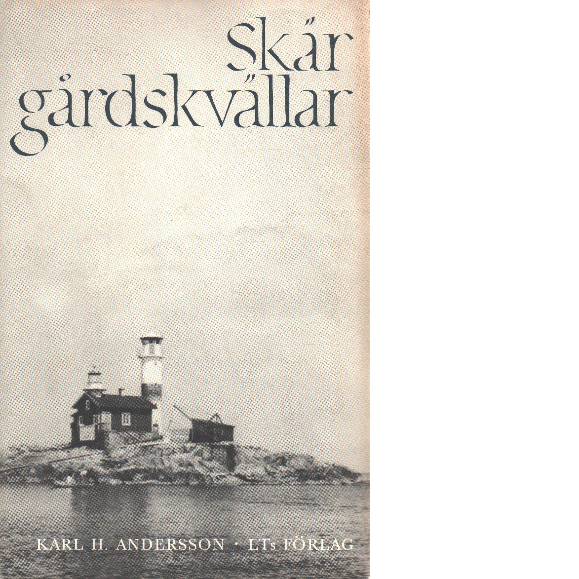 Skärgårdskvällar. - Andersson, Karl H.
