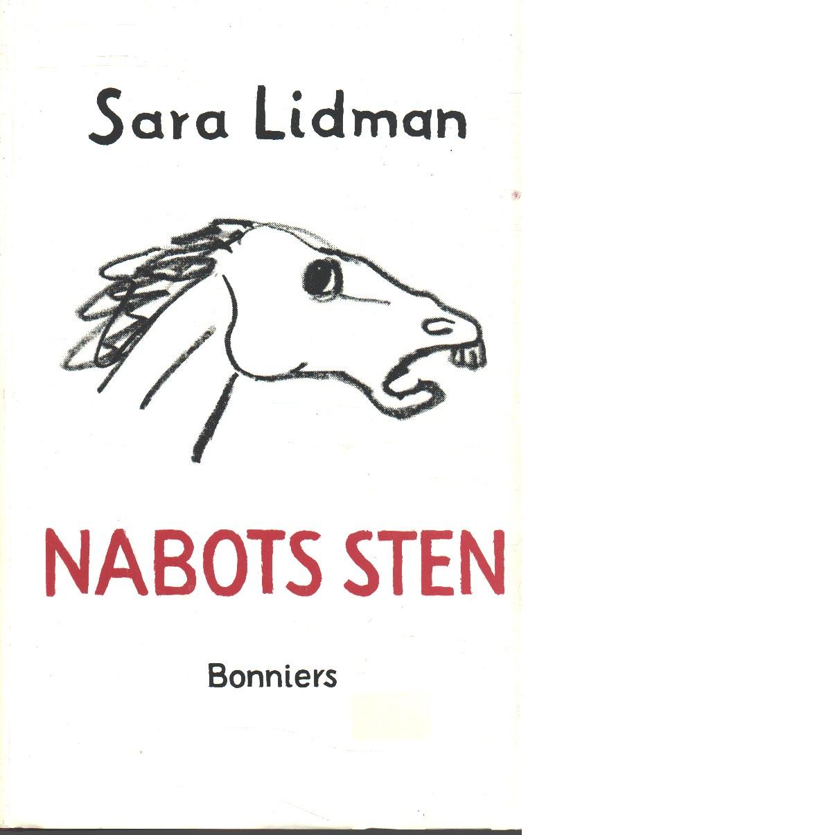 Nabots sten - Lidman, Sara