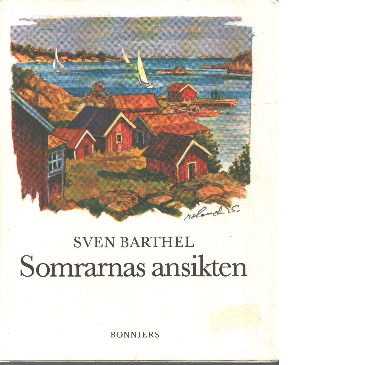 Somrarnas ansikten : ett urval - Barthel, Sven