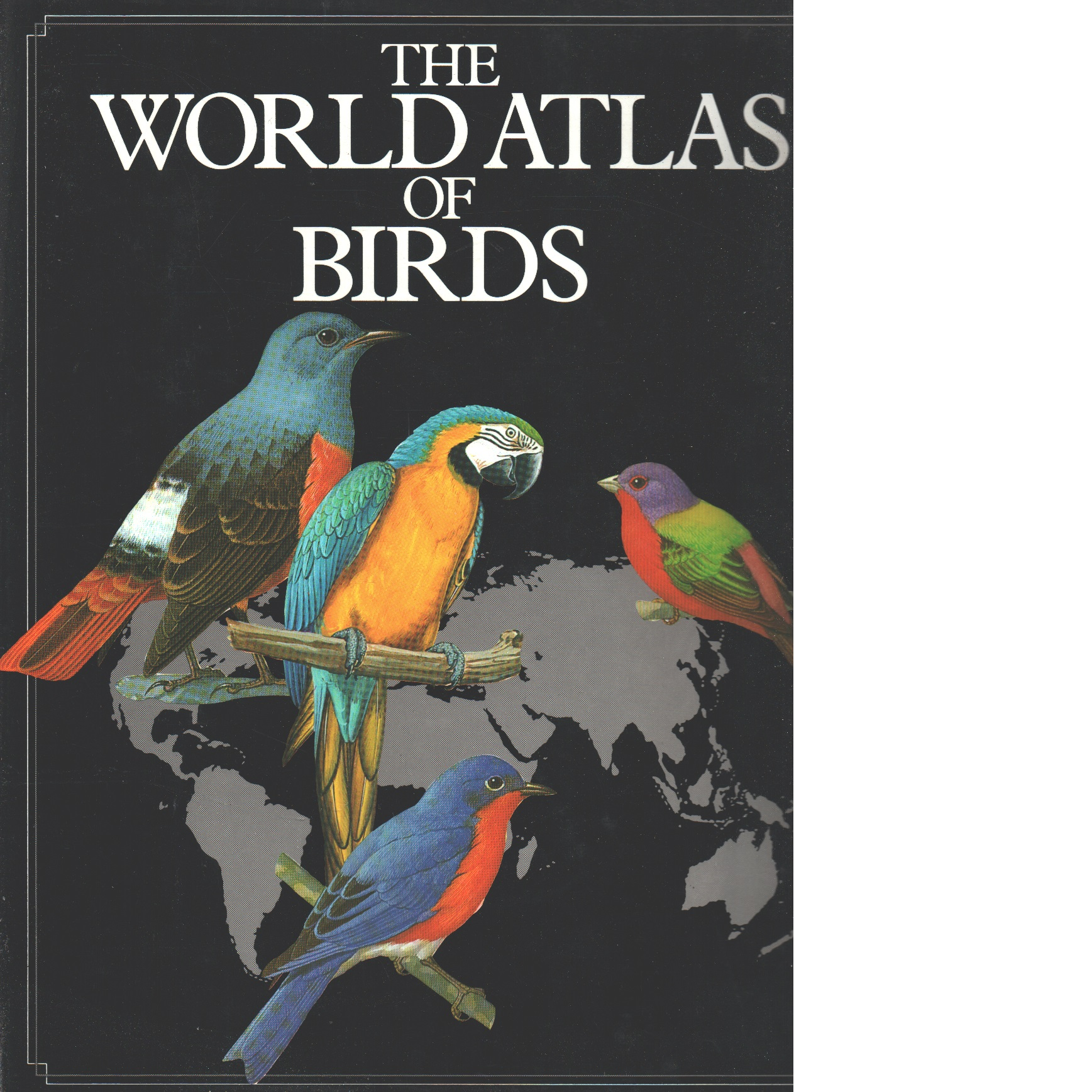World Atlas of Birds - Bramwell,  Martyn