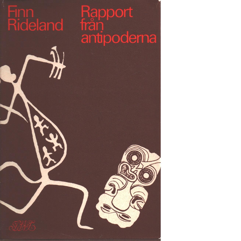 Rapport från antipoderna - Rideland, Finn