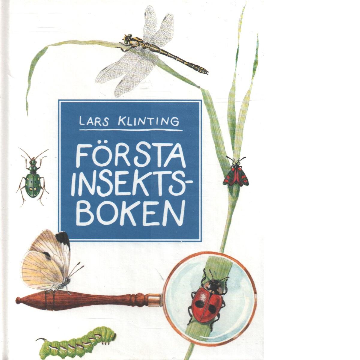 Första insektsboken - Klinting, Lars