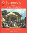 Brunnsliv : diktare på kurorter i Europa - Hjorth, Daniel