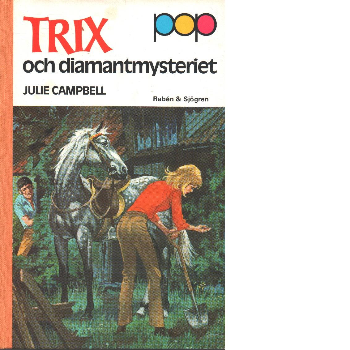 Trix och diamantmysteriet - Campbell, Julie
